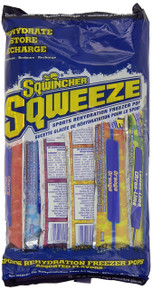 Sqwincher 3 oz Sqweeze Electrolyte Freezer Pop, 10 Assorted