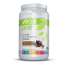 Vega One All-In-One Plant Based Protein Powder Chocolate -- 20 Servings
