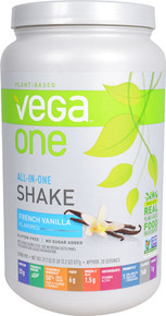 Vega One All-in-One Plant Based Protein Powder French Vanilla -- 20 Servings
