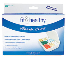 MEDport Vitamin Chest Organizer -- 1 Unit
