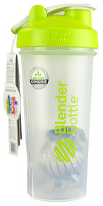 BlenderBottle Classic™ 28 oz with Loop Clear-Green -- 1 Cup