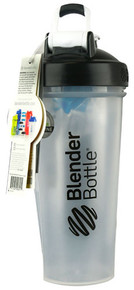 BlenderBottle Classic™ 28 oz with Loop Clear-Black -- 1 Cup