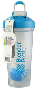 BlenderBottle Classic™ 28 oz with Loop Clear-Aqua -- 1 Cup