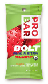ProBar Bolt Organic Energy Chews (Gluten Free) Strawberry - 1 packet