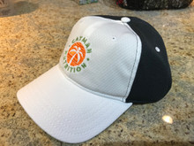 Cayman Nutrition Hat - White on Black