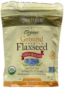 Spectrum Essentials® Organic Cold Milled Ground Premium Flaxseed