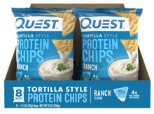 RANCH TORTILLA STYLE PROTEIN CHIPS