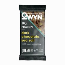 OWYN VEGAN PLANT-BASED PROTEIN BARS - DARK CHOCOLATE AND SEA SALT