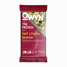 OWYN VEGAN PLANT-BASED PROTEIN BARS - TART CHERRY AND LEMON