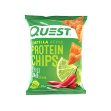 Quest Nutrition Protein Chips - Tortilla Style - Chili Lime