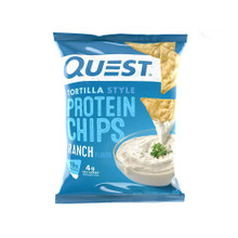 Quest Nutrition Protein Chips - Tortilla Style - Ranch