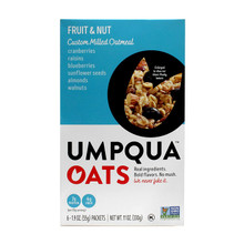 Umpqua Umpqua Oats - Fruit & Nut Custom Milled Oatmeal, 6 Count