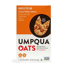 Umpqua Umpqua Oats - Maple Peacan Custom Milled Oatmeal, 6 Count