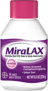 MiraLAX Laxative Powder for Solution 8.3 oz