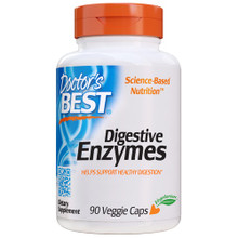 Doctor's Best Digestive Enzymes -- 90 Veggie Caps