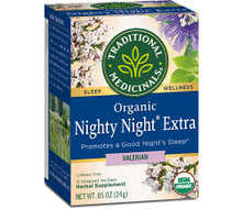 Organic Nighty Night® Valerian Tea -- 16 Tea Bags