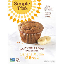 Simple Mills Almond Flour Mix, Banana Muffin & Bread
