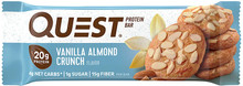 Quest Nutrition Vanilla Almond Crunch Protein Bar