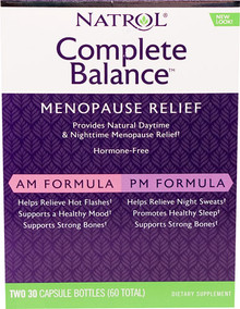 Natrol Complete Balance® for Menopause AM - PM