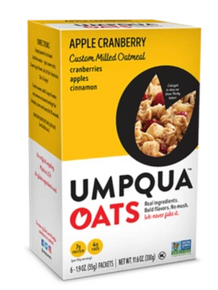 Umpqua Umpqua Oats - Apple Cranberry Custom Milled Oatmeal, 6 Count