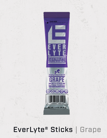 Sqwincher EverLyte® Sticks (Package of 50 Sachets) - Grape