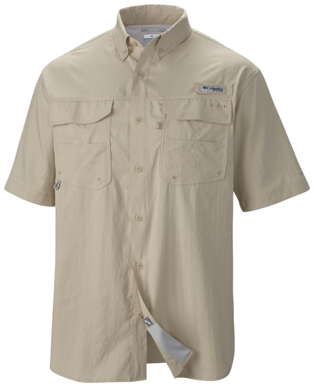 630b58a6 Columbia Men's PFG Blood and Guts S/S Woven Shirts - 888458870631