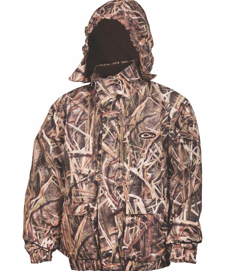 DRAKE WATERFOWL YOUNG GUNS YOUTH MST EQWADER PLUS 1//4 ZIP CAMO COAT PULLOVER