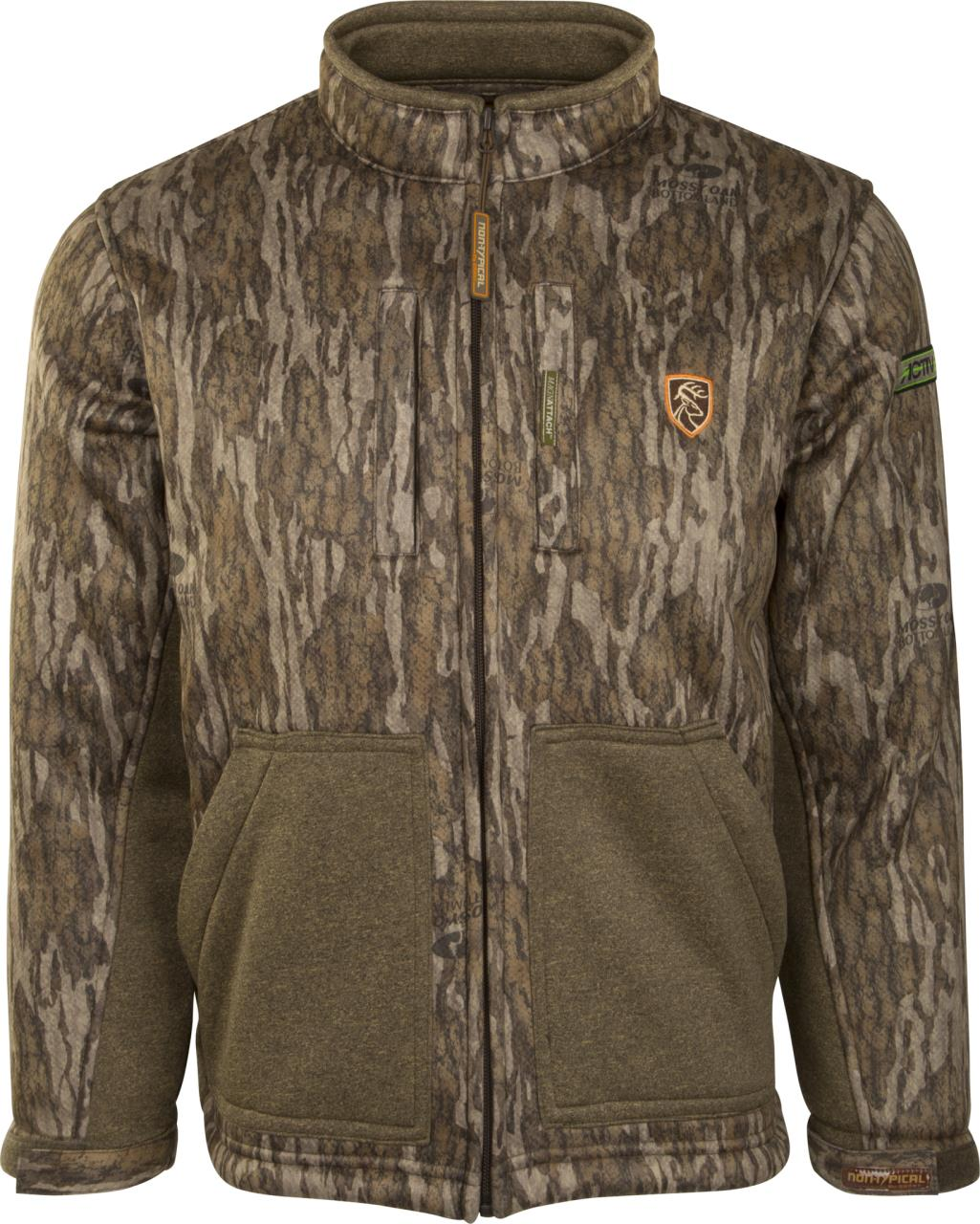 cd0598ebde15d Drake Youth Non-Typical Silencer Full Zip Jacket with Agion Active XL® -  659601418907