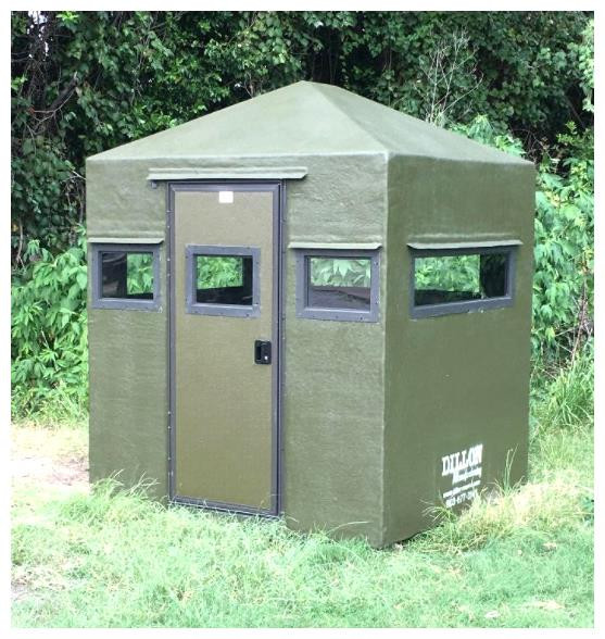 Dillon Box  Blind 5 1/2x5 1/2 Classic Blind (No Tower) - 000999155088
