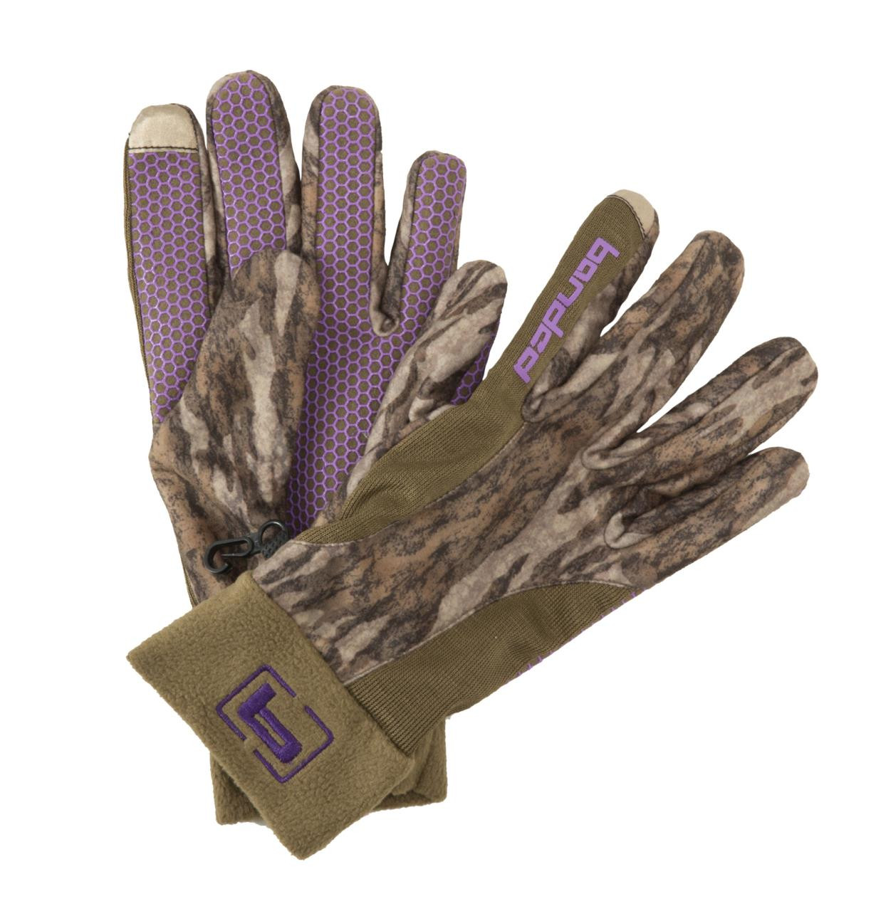 Banded Women's Fleece Glove - 848222021577