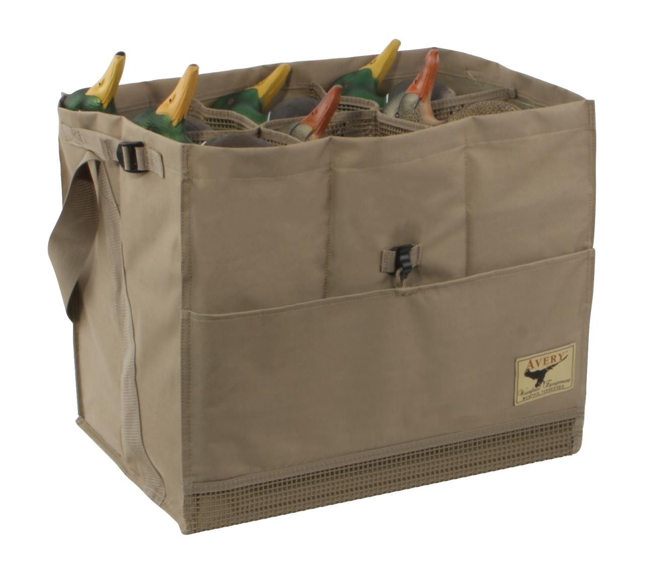 Avery 6-Slot Duck Decoy Bag (Blades or Khaki) - 700905001514