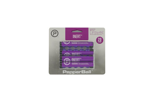 Pepperball INERT PRACTICE Rounds (20 or 90 Count) - 849176011058