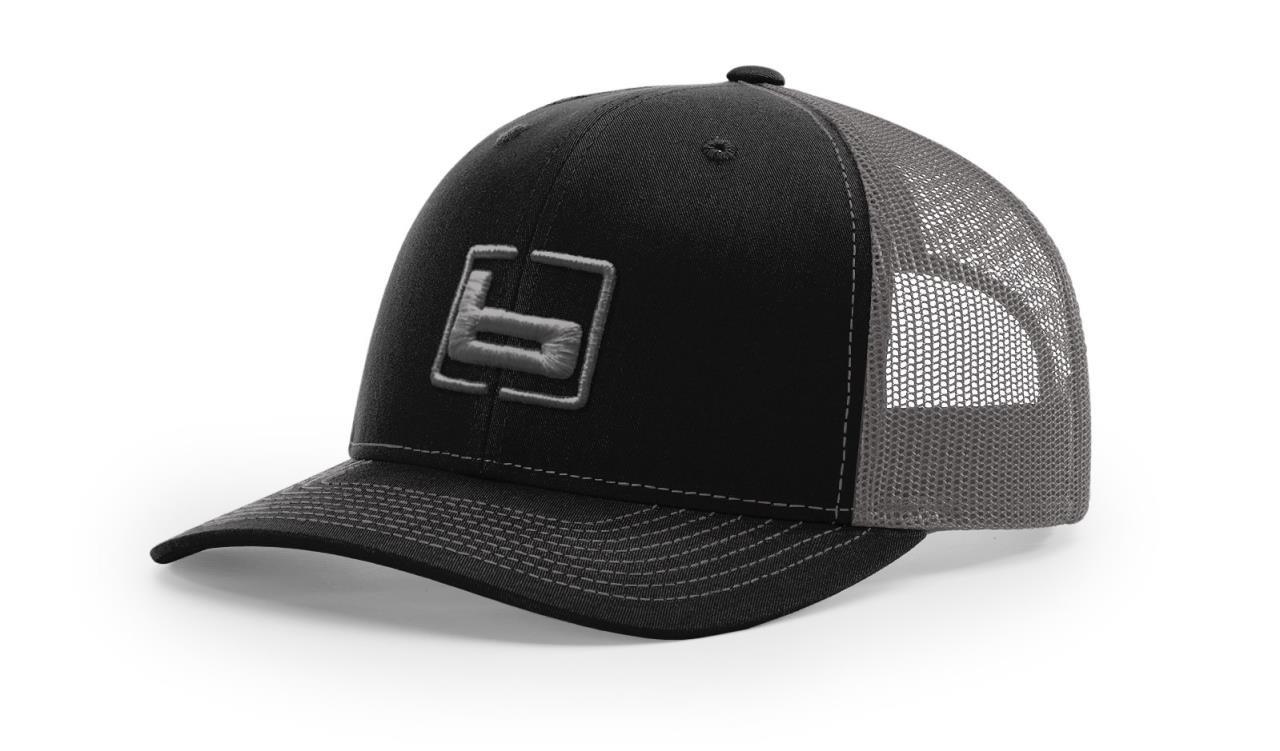 Banded Trucker Snapback Front Logo Cap (Multiple Color Options) - 848222035666
