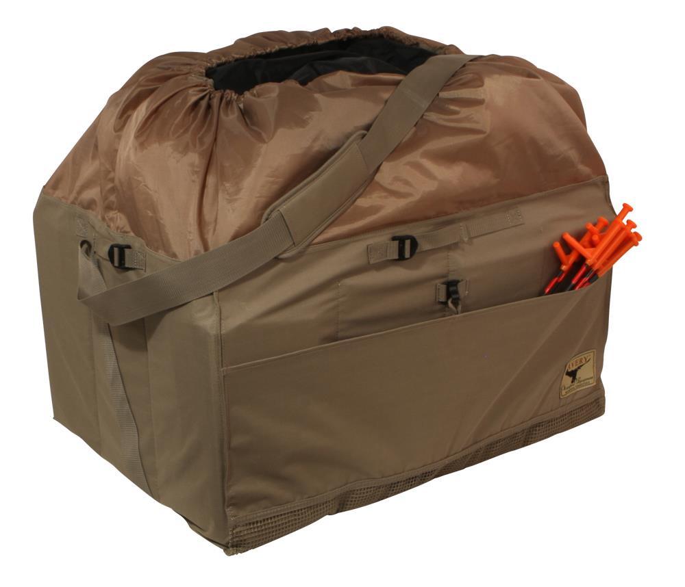 Avery Mid-Size Full Body Goose Decoy Bag (6 or 12 Slot) - 700905001231