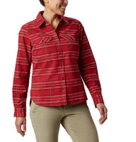 Columbia Women's Silver Ridge Longsleeve Flannel Tops - 192660076249