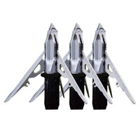 G5 Mega Meat 3 Blade Crossbow Broadheads - 817990008882