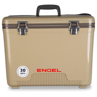 Engel 30 Quart Cooler Dry Box Tan - 816219020421