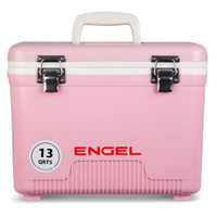 Engel 13 Quart Cooler Dry Box Pink - 816219020308