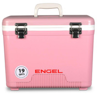 Engel 19 Quart Cooler Dry Box Pink - 816219020353