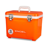 Engel 13 Quart Cooler Dry Box High Viz Orange - 816219026287