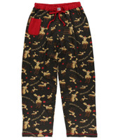 Lazyone Women's Chocolate Moose Pj Pant - 841654134464