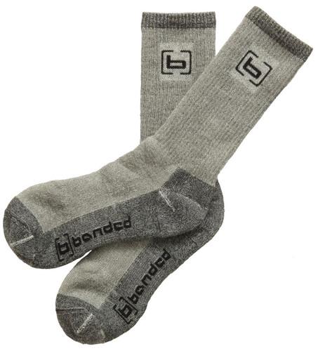Banded Wool Socks Over The Calf - 848222039053