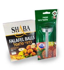 Falafel Balls Quick Preparation Mix + 4 cm Falafel Scoop
