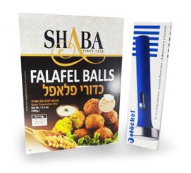 Falafel Balls Quick Preparation Mix + Stockel 4 cm Falafel Scoop