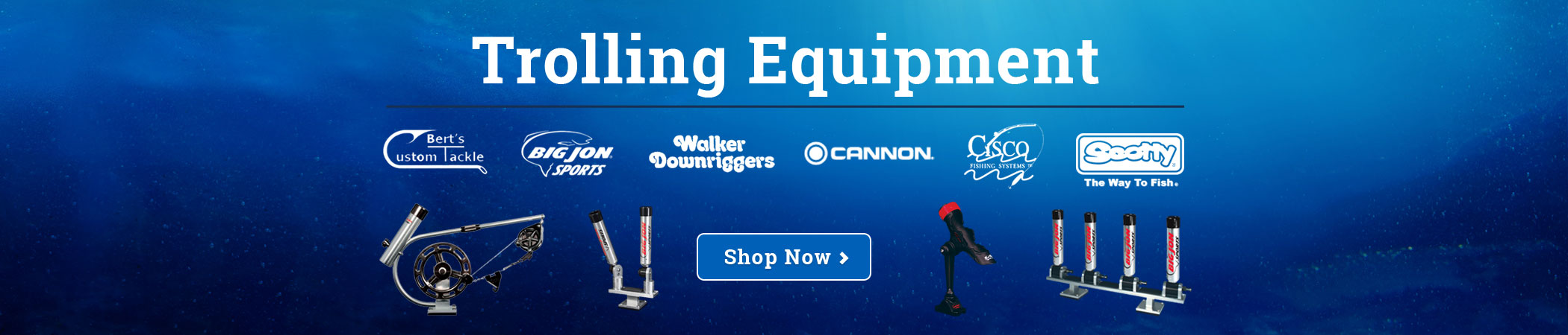 Walleye Fishing Tackle, Trolling Equipment & Marine