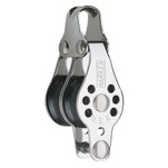 Harken 22mm Double Micro Block w\/Becket- Fishing