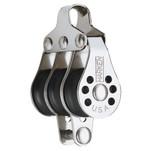 Harken 22mm Triple Micro Block w\/Becket- Fishing