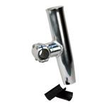 "C.E. Smith Adjustable Mid Mount Rod Holder Aluminum 1-1\/4"" or 1-5\/16"" w\/Sleeve  Hex Key"
