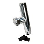 "C.E. Smith Adjustable Mid Mount Rod Holder Aluminum 1.66"" or 1-1\/2"" w\/Sleeve  Hex Key"