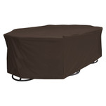 True Guard 6-Chair 600 Denier Rip Stop Patio Dining Set Cover